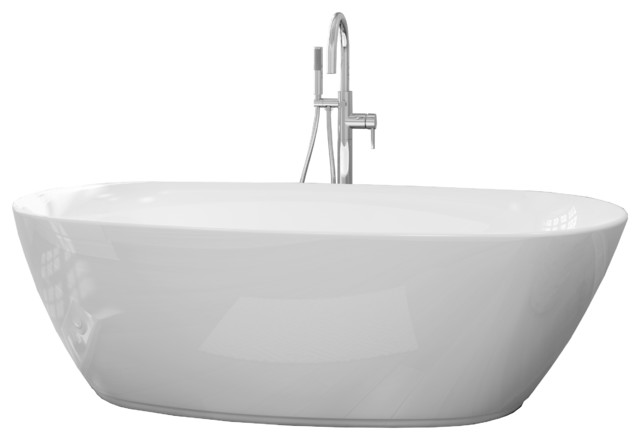 Nice Sequana Freestanding Tub Set Contemporary Bathtubs