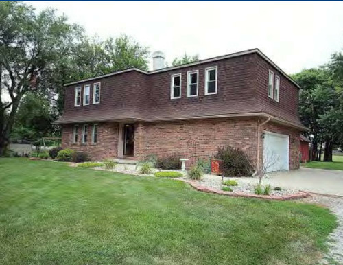 Mansard Home Exterior Update