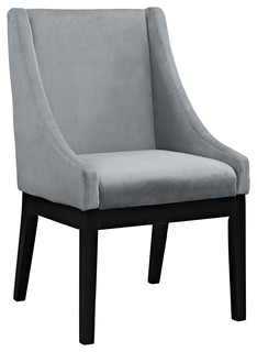 Tide Dining Wood Side Chair, Gray