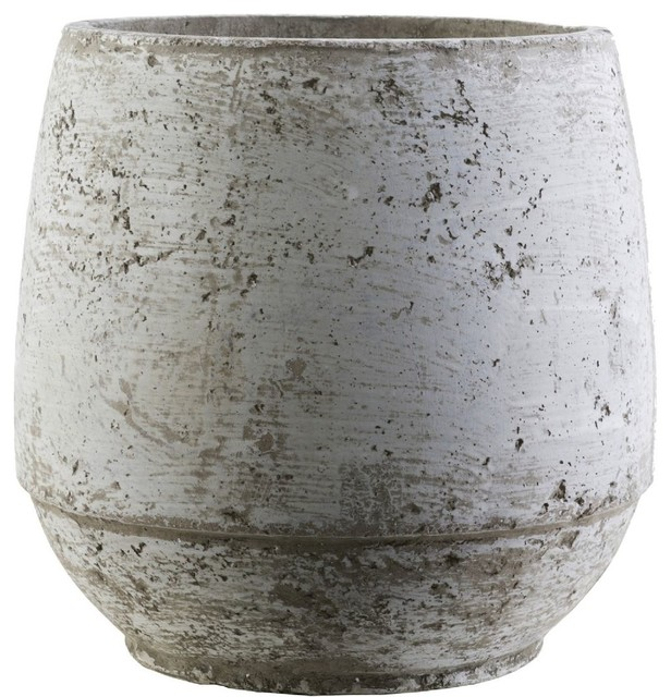 "Rome Home Accent Outdoor Pots, Gray-Neutral, 0&x27;10""x0&x27;10"""
