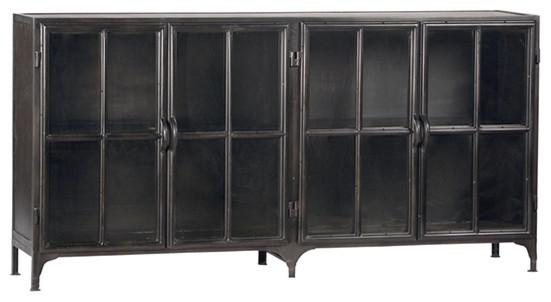 York Metal Sideboard Industrial Buffets And Sideboards