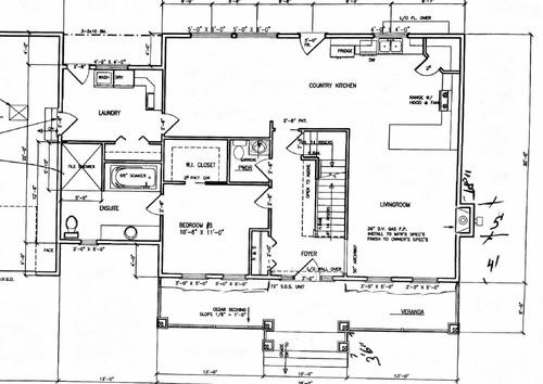 Need Help With Main Floor Plan