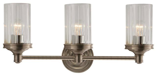 Ava Bathroom Pendant Light: Visual Comfort Lighting Alexa Hampton Ava 3 Light Bath