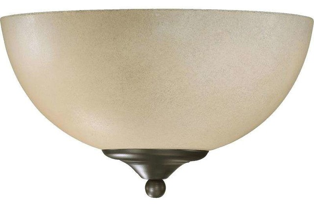Quorum Wall Sconces : Quorum Lighting 625-11 Hemisphere Wall Sconce - Transitional - Wall Sconces - by Mylightingsource