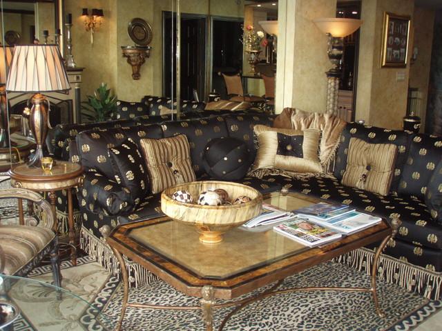 Versace Inspired Living Room