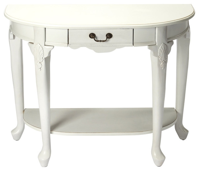 Amazing Kimball Console Table Plantation Cherry White Interior Design Ideas Inesswwsoteloinfo