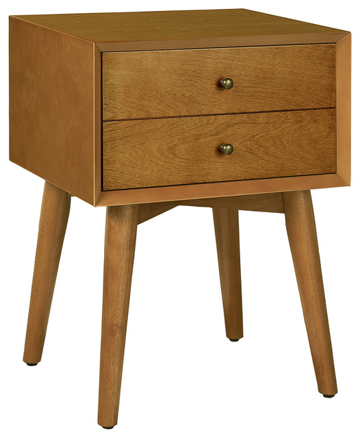 Landon Night Stand Acorn Midcentury Nightstands And Bedside