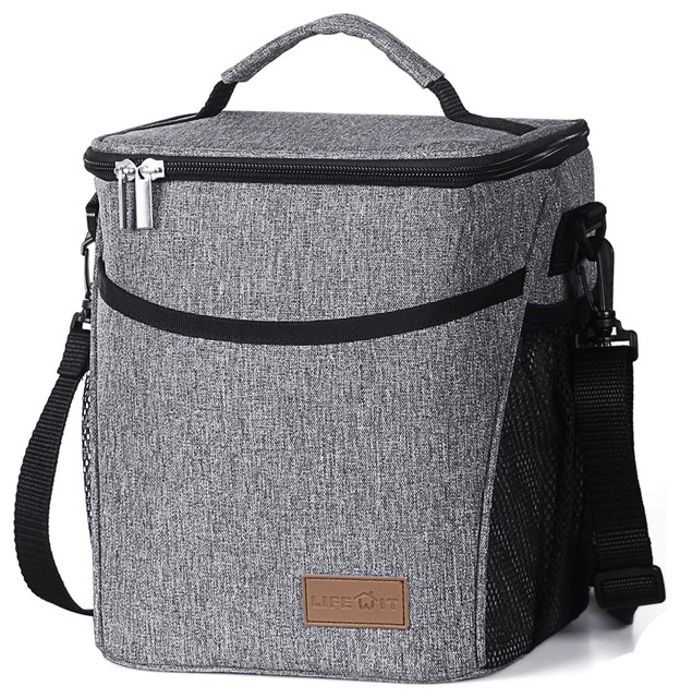 Lifewit Waterproof Lunch BoxThermal Cooler Insulated Portable Tote Storage Bag  sc 1 st  Houzz & Lifewit Waterproof Lunch BoxThermal Cooler Insulated Portable Tote ...