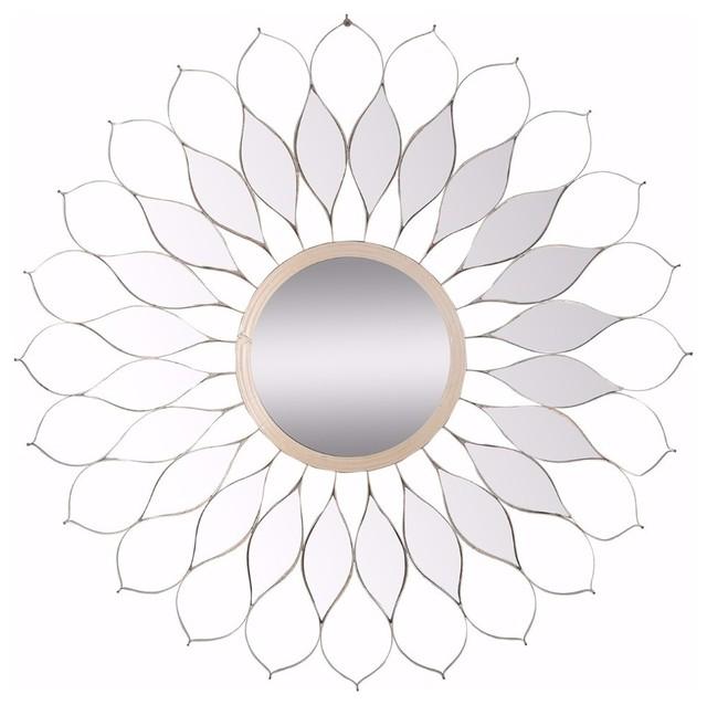 Artistically Designed Sturdy Skyler Mirror.