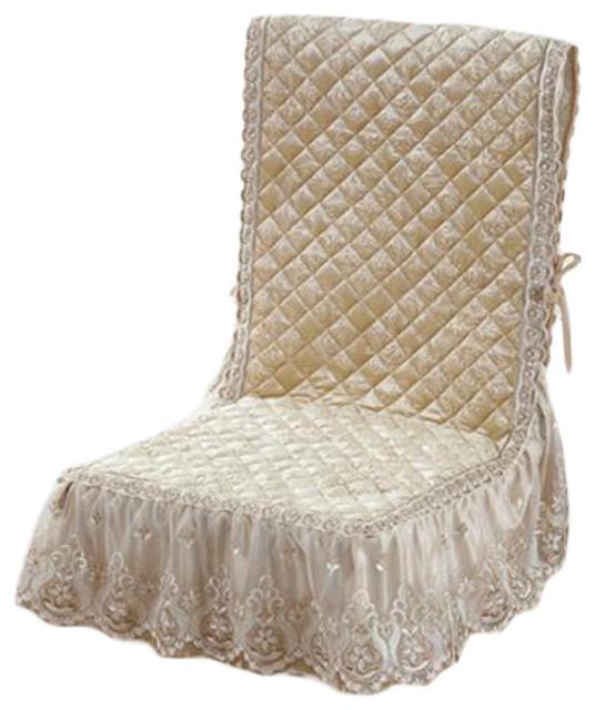 European 1, Piece Cushion Kitchen Chair Pad Seat Dining Chair Covers, A02