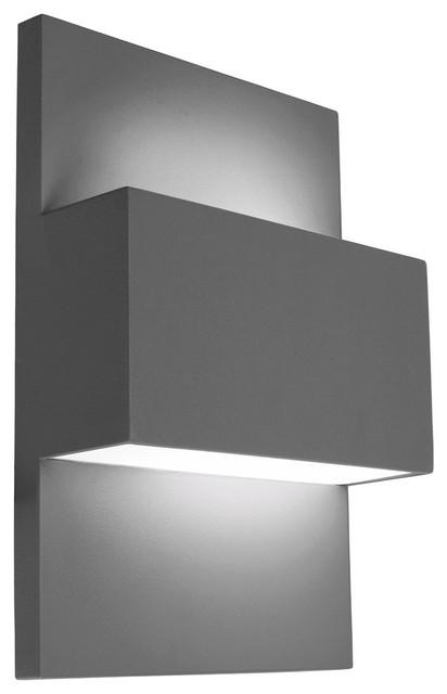 Geneve 18-Watt Wall Light, Graphite