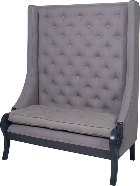 Superieur High Back Sofa Bench