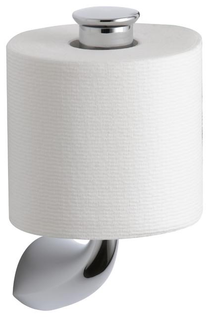 Kohler Kohler K 37056 Cp P Alteo Vertical Toilet Tissue Holder Toilet Paper Holders Houzz
