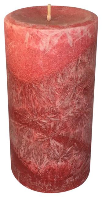 Palm Soy Pillar, Apple Cinnamon, W Cotton Wicks