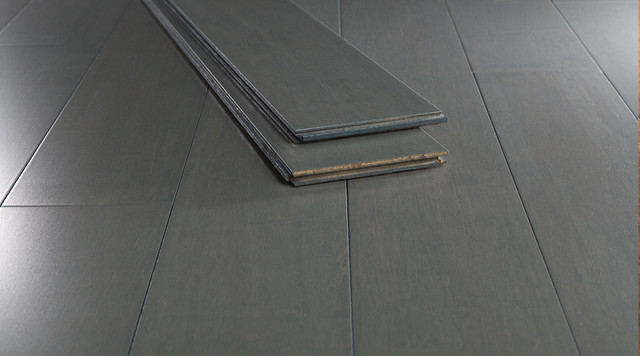 Grey Bamboo FlooringGrey Ash Rollable Flooring