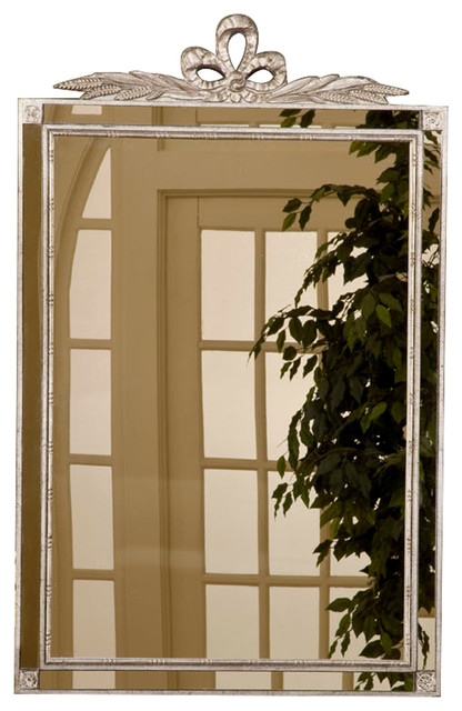 Old World Mirror With Side Glass.