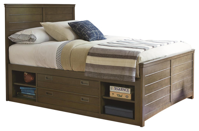 School Days Reading Bed, Full, Underbed Storage Drawers.