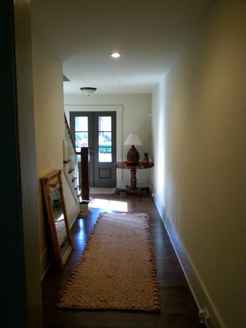 How to brighten a hallway
