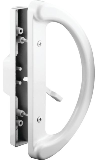 Prime-Line C 1225 Sliding Door Handle, Mortise Style, White - Transitional - Door Locks - by ...