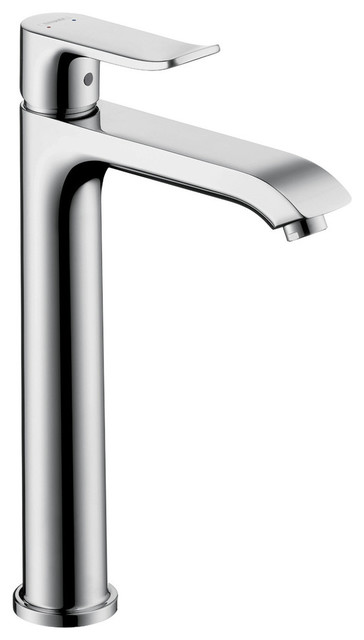 hansgrohe bathroom sink faucets hansgrohe chrome metris bathroom faucet vessel faucet with 18667