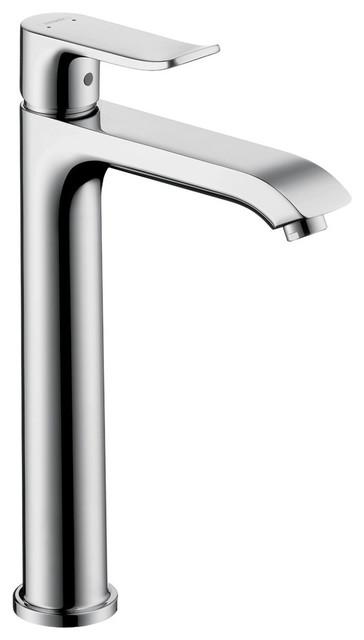 Hansgrohe Chrome Metris Bathroom Faucet Vessel Faucet With