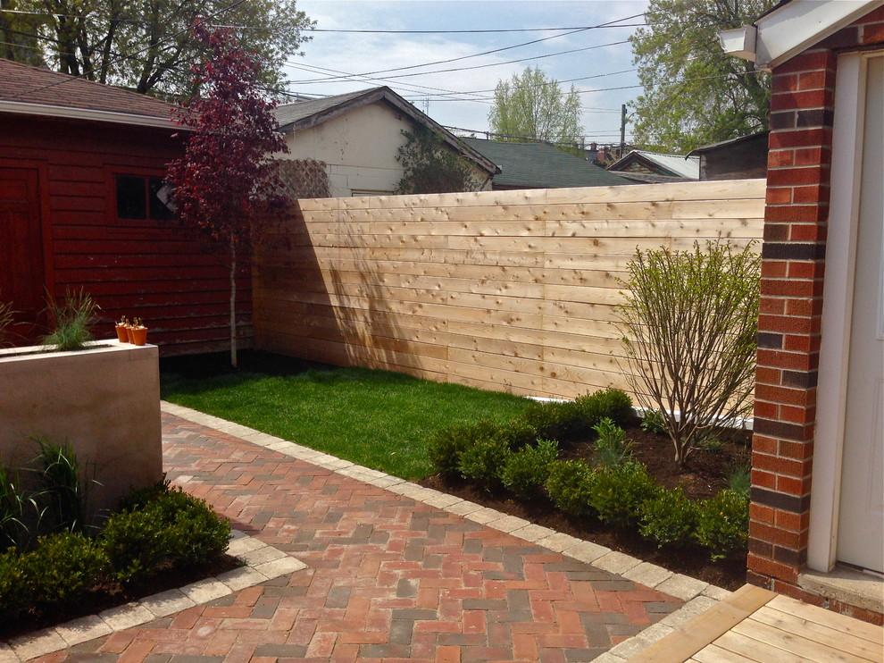 Toronto Annex Backyard Landscape Design