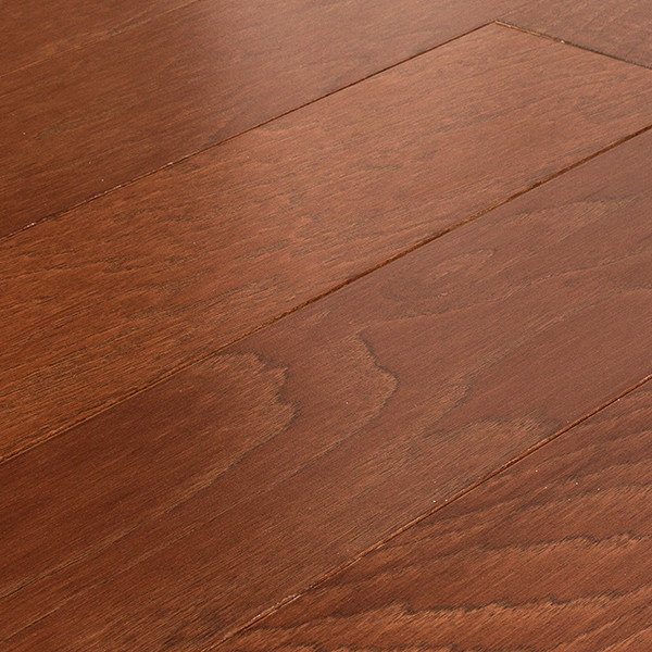 Allen Roth Hickory Warm Cherry Click Engineered Hardwood