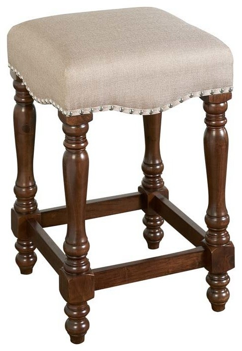 Willow Backless Counter Stool Traditional Bar Stools