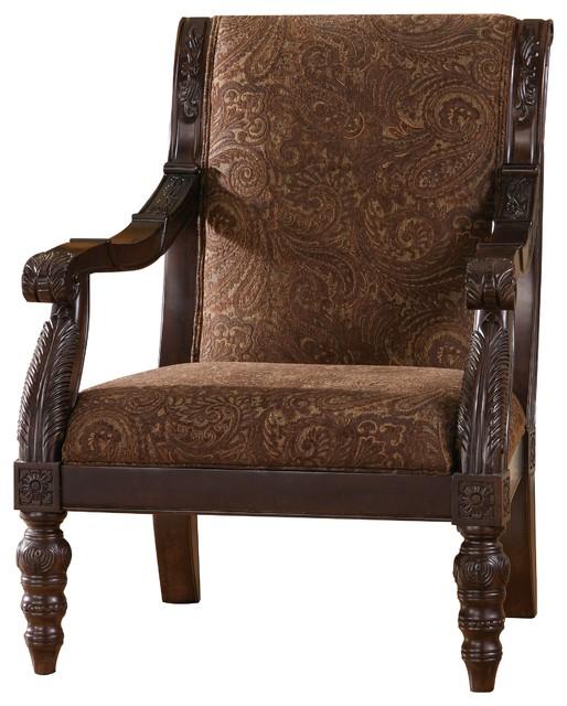 Amazing Ashley Bradington Truffle Showood Accent Chair