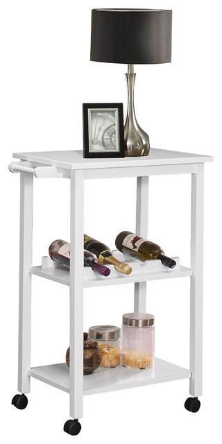 wood kitchen storage serving cart with wine rack black kitchen islands and kitchen carts by. Black Bedroom Furniture Sets. Home Design Ideas