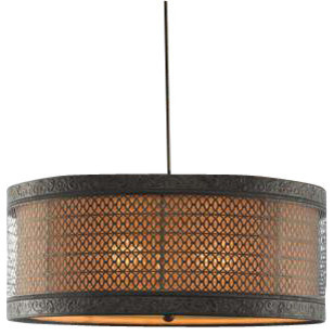 uttermost new orleans 3 light drum pendant pendant lighting by