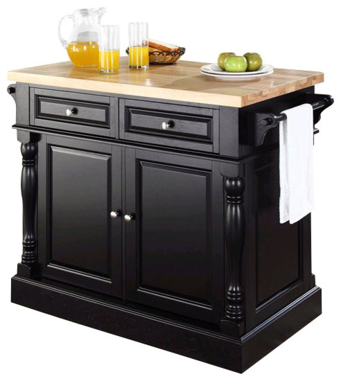 crosley oxford kitchen island butcher block kitchen