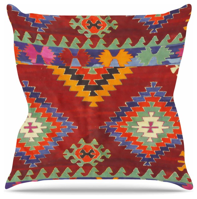 Southwestern Print Throw Pillows : S. Seema Z