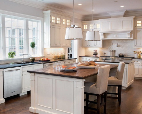 Traditional Kitchen | ELLE Decor traditional kitchen