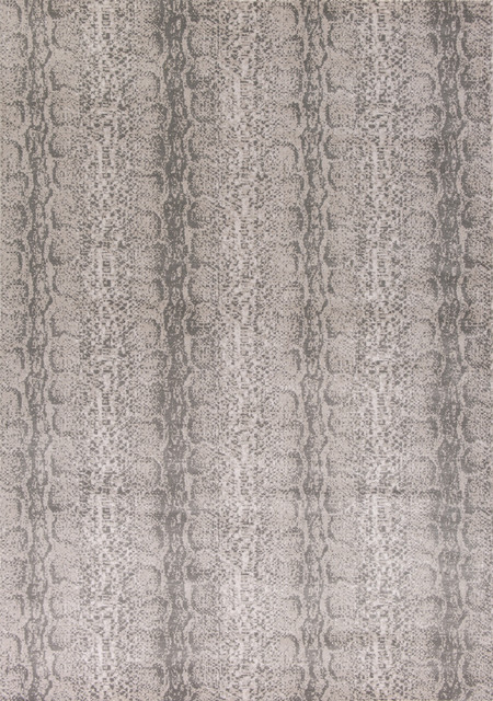 Chandler 4908 Taupe Snakeskin Rug, 6&x27;6x9&x27;6.