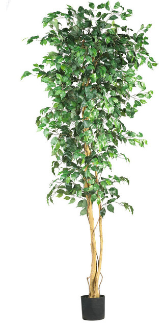7 ft. Silk Ficus Artificial Tree