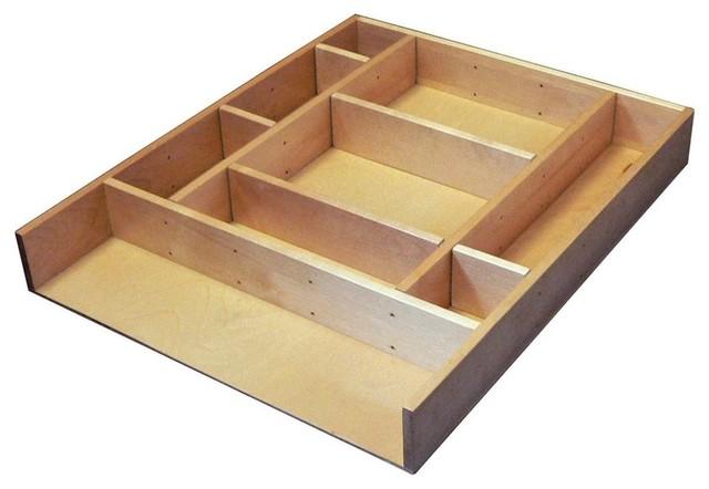 "Rev-A-Shelf Ld-4ct21-1 Ld-4ct Series 2.5"" Deep Wood Drawer Organizer Kit 21."