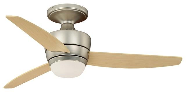"""Vaxcel Lighting F0032 Adrian 44"""" 3 Blade Indoor Ceiling Fan."""