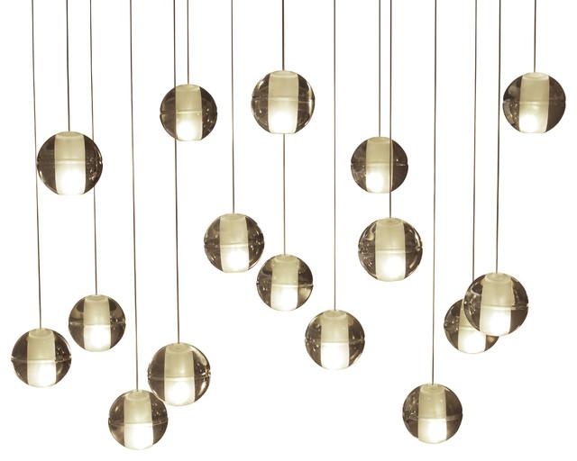 Shop Houzz  Lightupmyhomecom Orion 16Light LED Rectangular