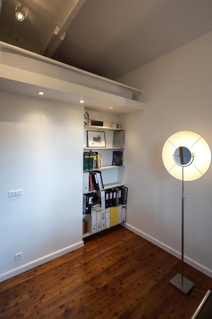 bureau chambre d\'amis avec lit en mezzanine - Modern - Lyon ...