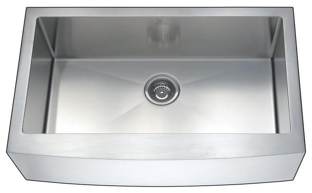 Anzzi Elysian Farmhouse Stainless Steel Kitchen Sink W/harbour Faucet.