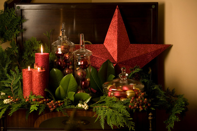 elegant christmas decor eclectic - Elegant Christmas Decorations