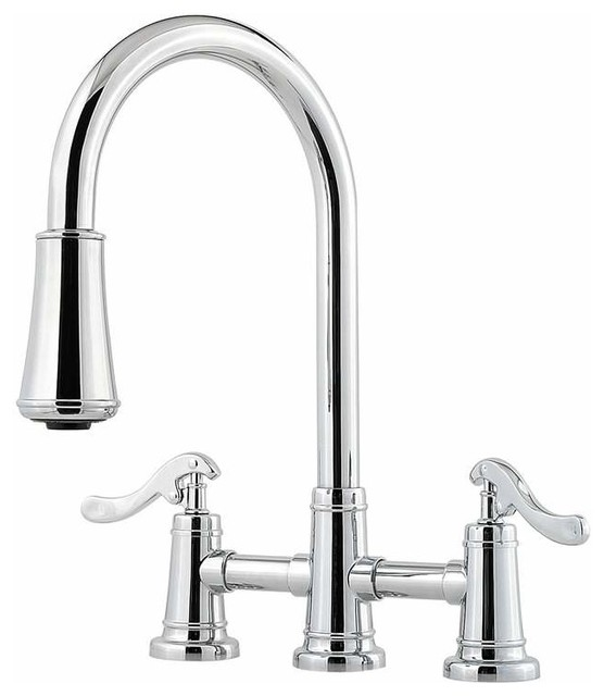Pfister LG531-YP Portland Pullout Spray Kitchen Faucet