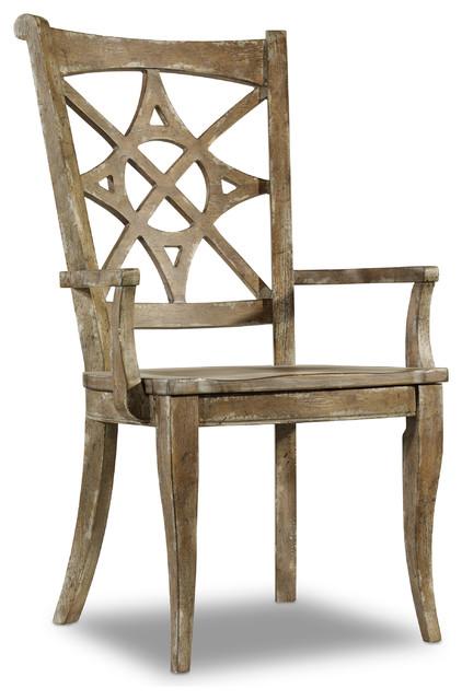 Melange Rafferty II Arm Chair by Hooker Furniture