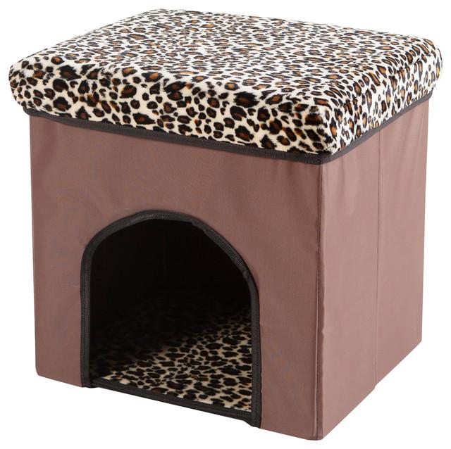 Lila Pet House Ottoman
