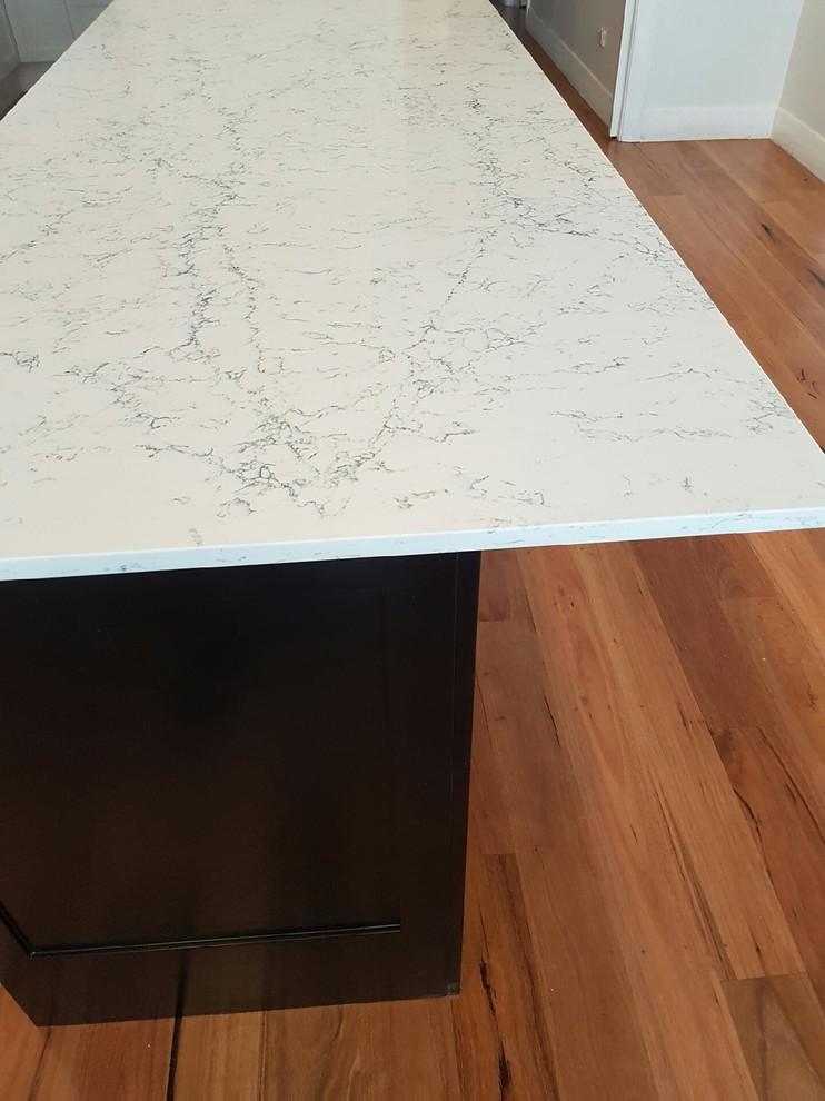 Caesarstone White Attica Traditional