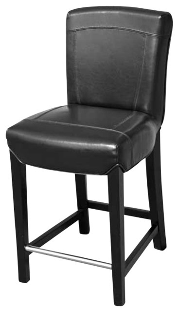Exquisite Leather Stool Transitional Bar Stools And Counter