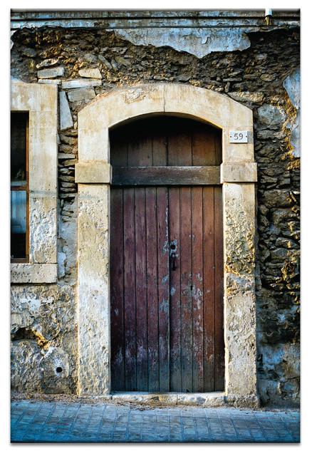 Doors Of Italy - Mattina Ardono, Canvas Print.