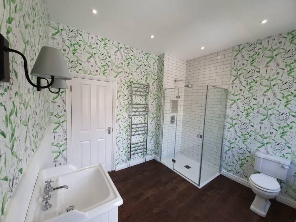Converting Bedroom into Bathroom