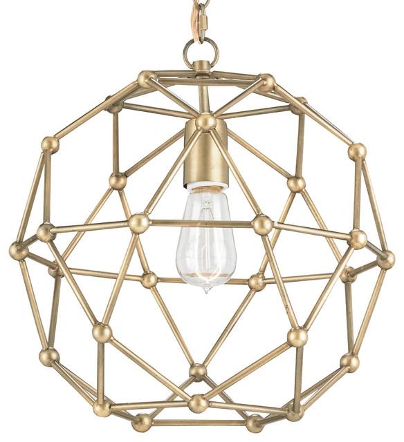 Geodesic Antique Brass Mid Century Modern Orb Pendant 14  transitional- pendant-lighting  sc 1 st  Houzz & Geodesic Antique Brass Mid Century Modern Orb Pendant 14 ... azcodes.com